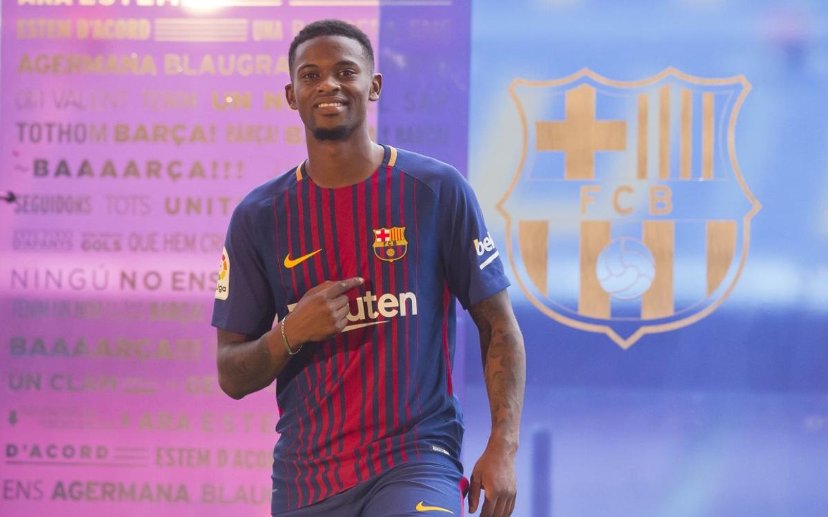 What Nelson Semedo had to say at his first Barça press conference