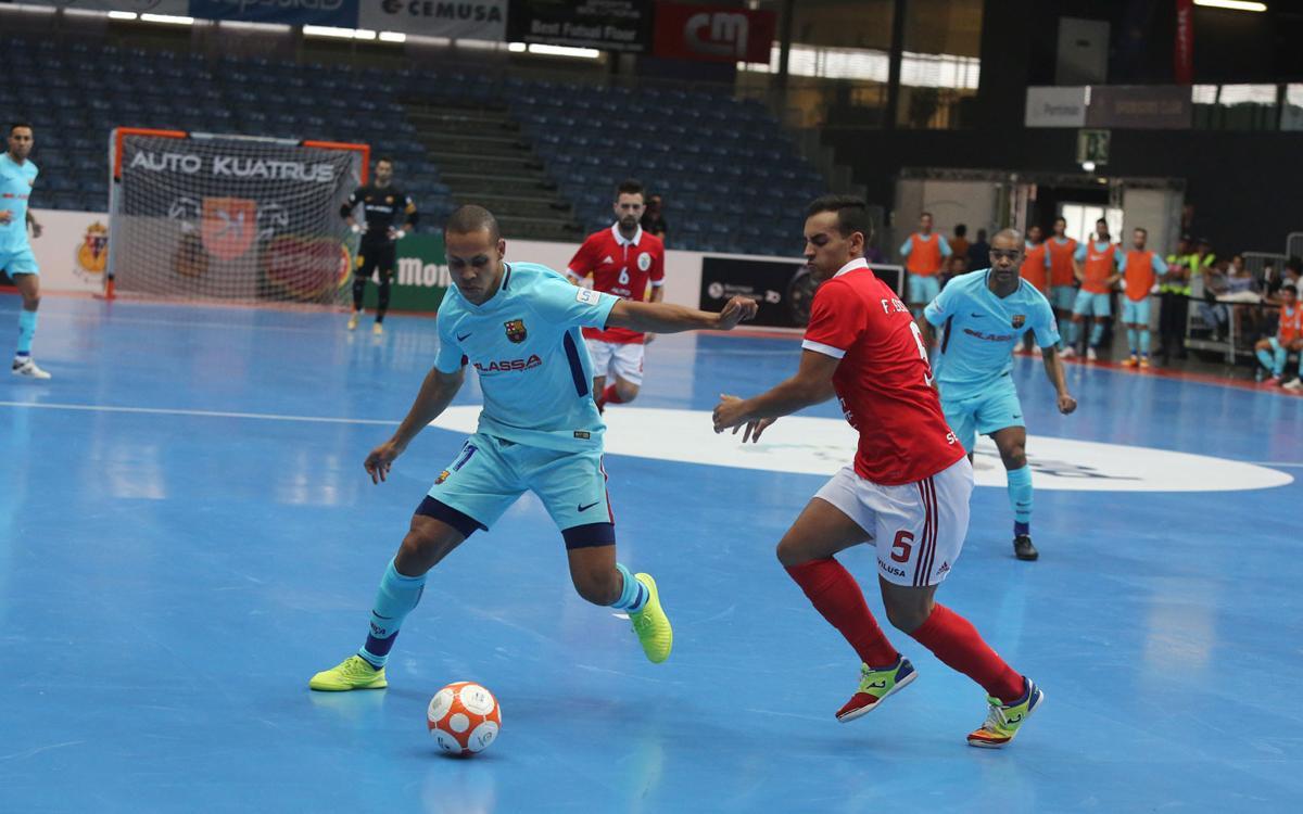 Benfica – FC Barcelona Lassa: Empat agredolç (1-1)