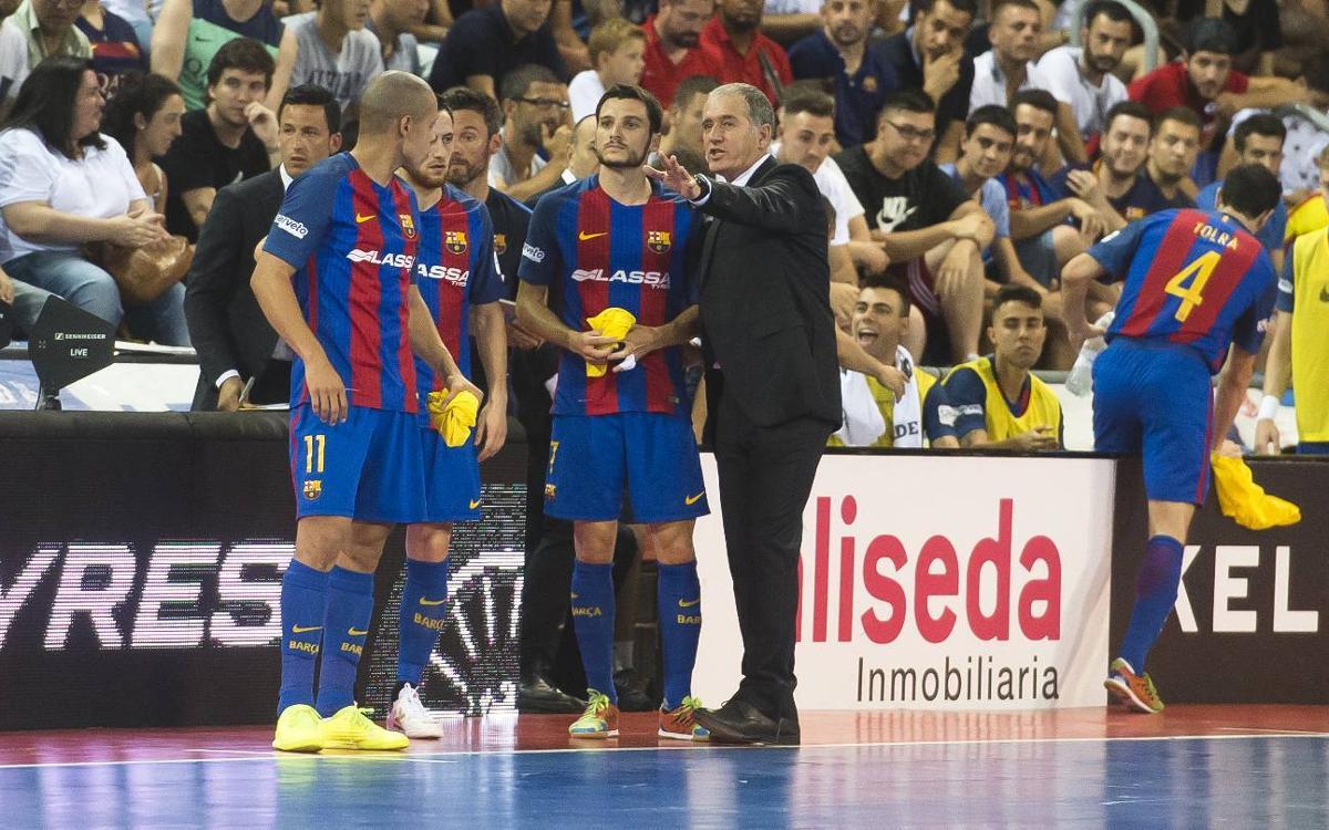 """Andreu Plaza: """"Dissabte tornarem a veure un gran Movistar Inter"""""""