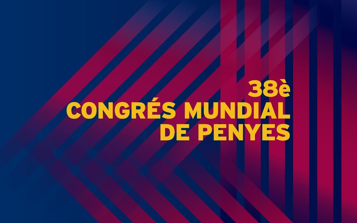 Programa del 38è Congrés Mundial de Penyes