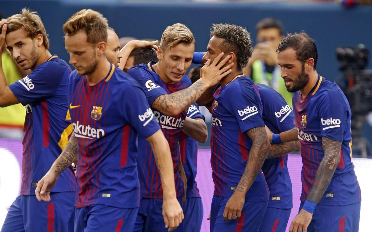 VIDEO HIGHLIGHTS: FC Barcelona 2-1 Juventus