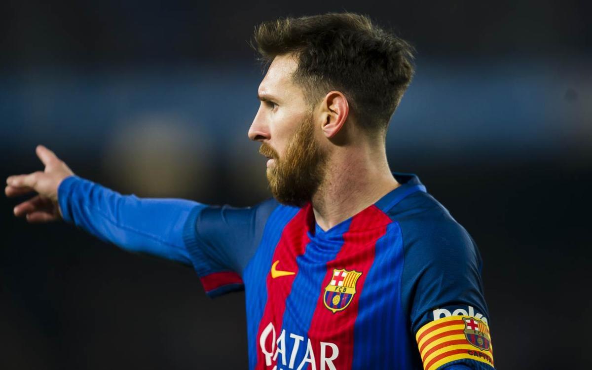 Leo Messi named 2016/17 team MVP