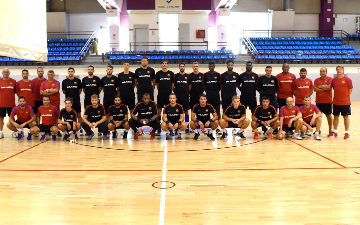 Primera jornada completa del Barça Lassa a Andorra