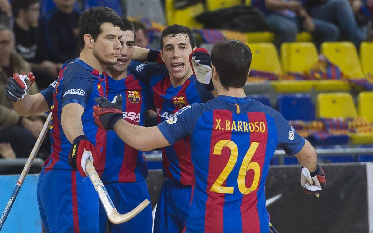 FC Barcelona Lassa 7-3 Igualada Calaf Grup: Triumphant return to the OK Liga