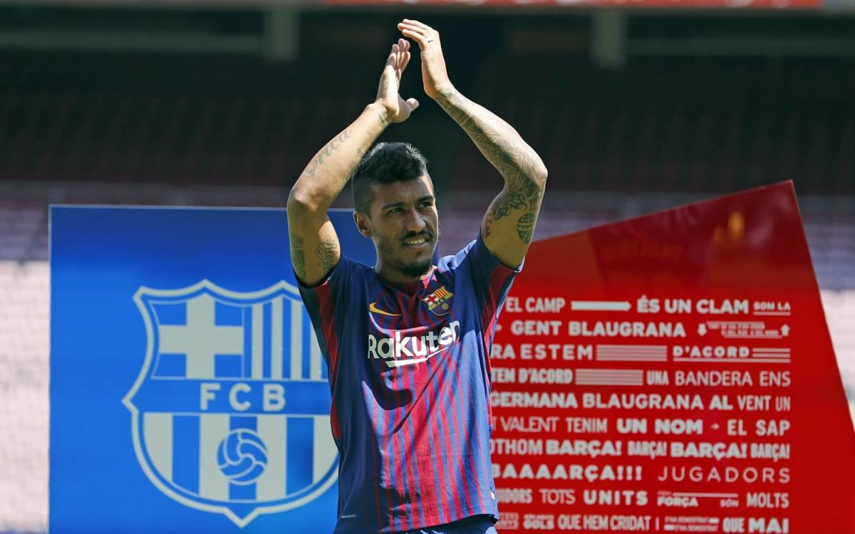Paulinho: I will give my all for my new team mates