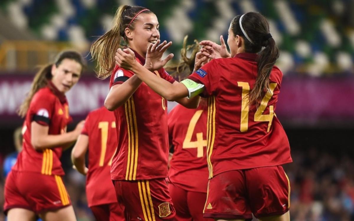 Patri y Aitana, campeonas de Europa sub-19 con España (3-2)