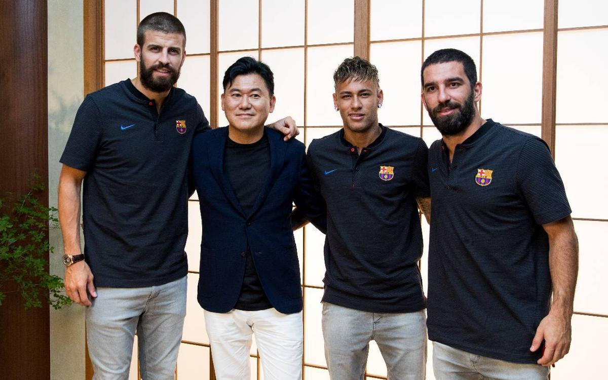 Japan already feeling Barça's presence