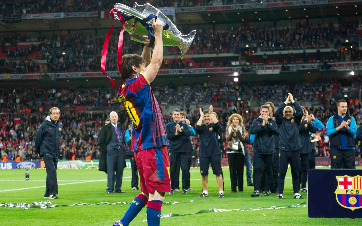 The Messi era, laden with trophies