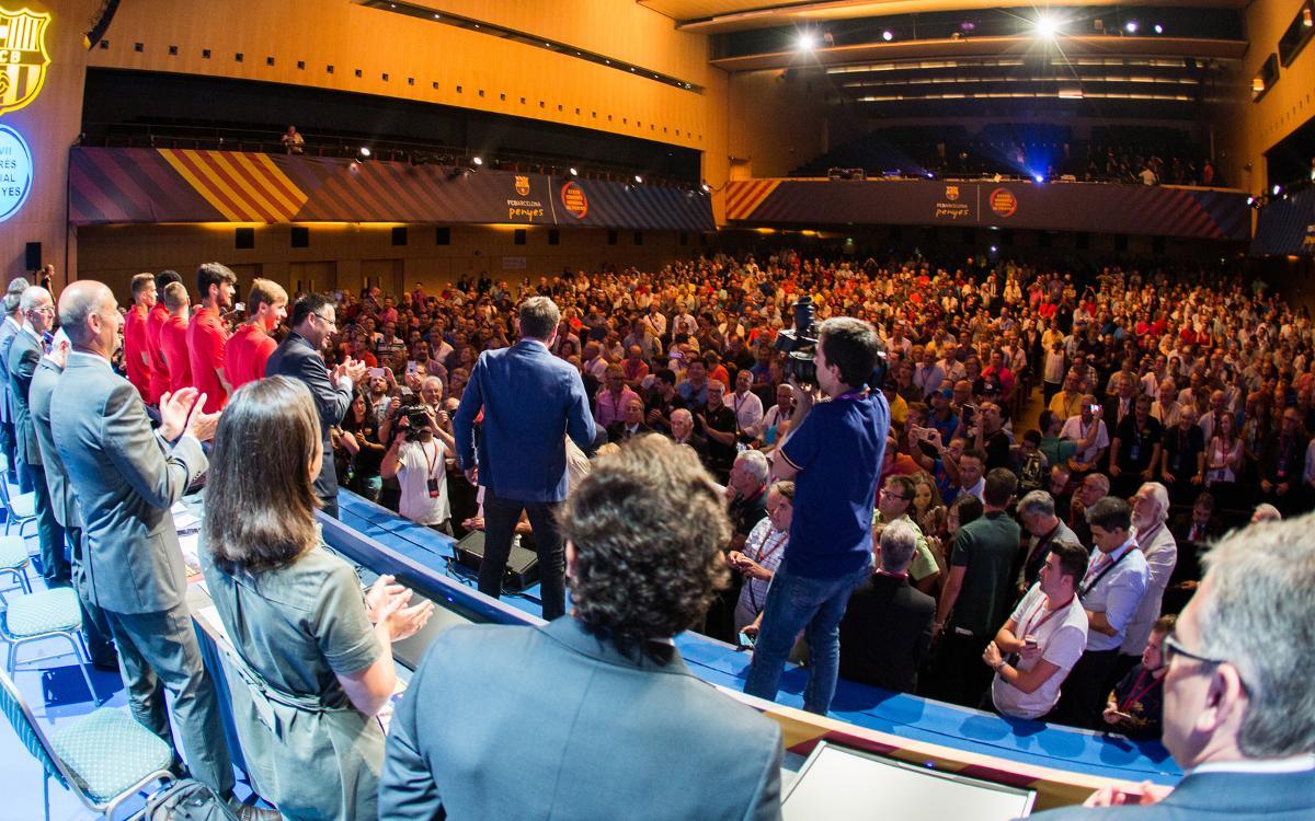 La Confederació Mundial de Penyes celebra el seu Congrés Mundial el 7 d'agost
