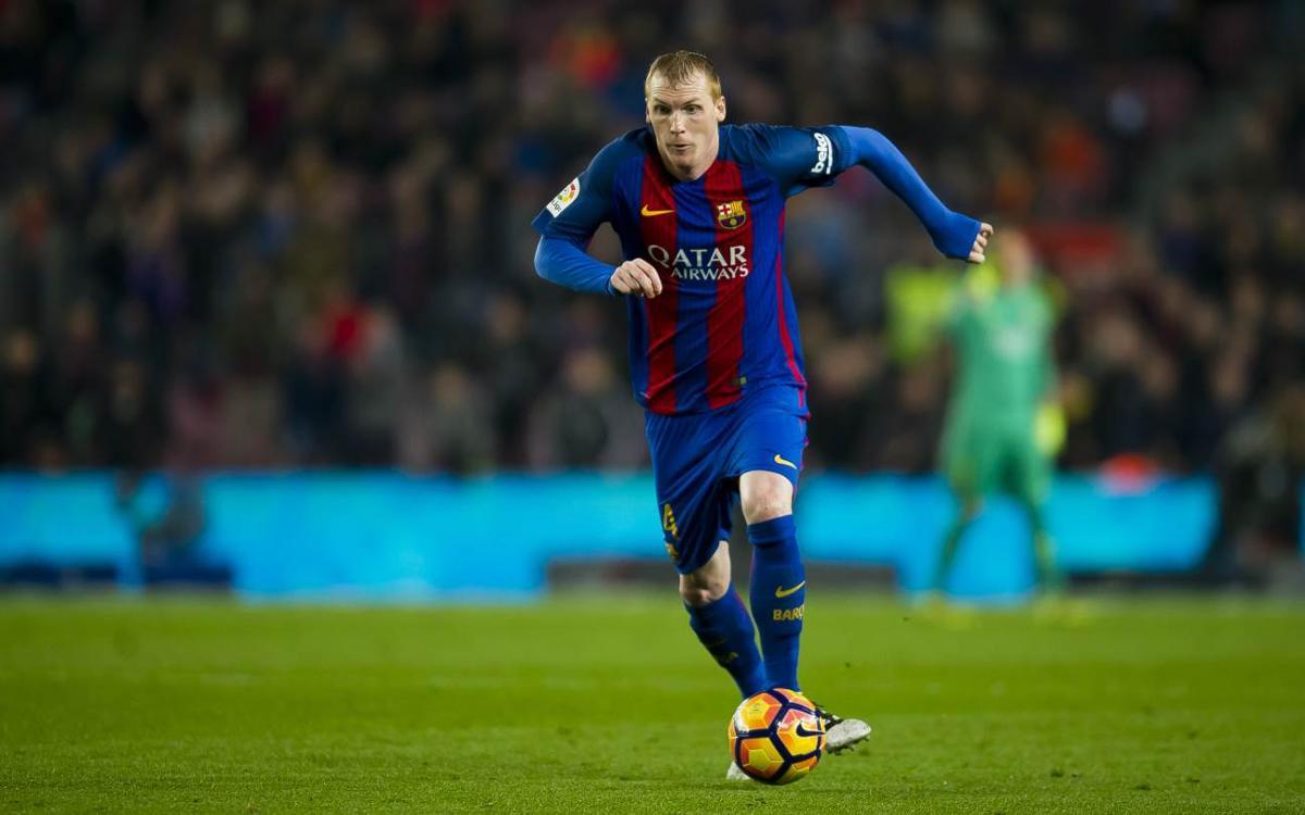 Final de l'etapa de Mathieu al FC Barcelona