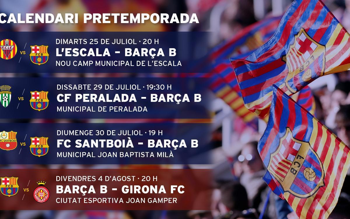El Girona FC, un rival de Primera Divisió a la pretemporada