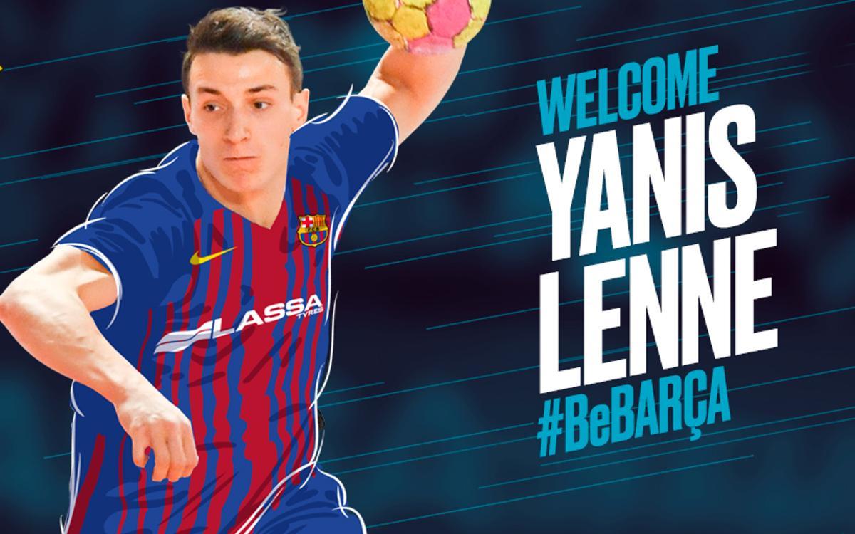 Yanis Lenne joins Barça handball