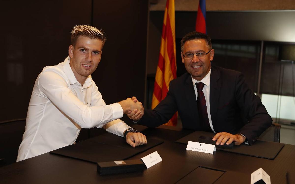 Ortolá formalitza el seu retorn al FC Barcelona