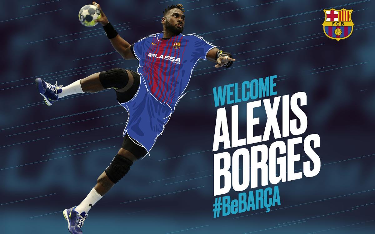 Alexis Hernández Borges signs for Barça Lassa