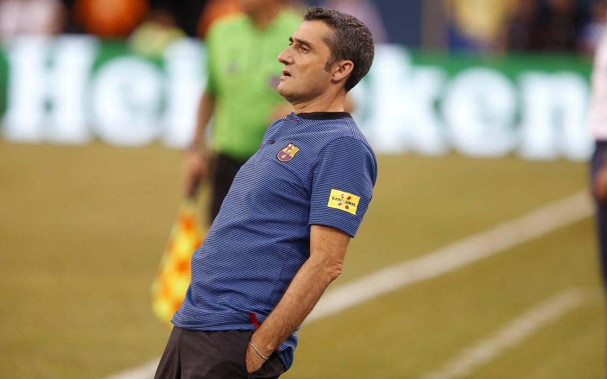 VIDEO: Debut day for Ernesto Valverde