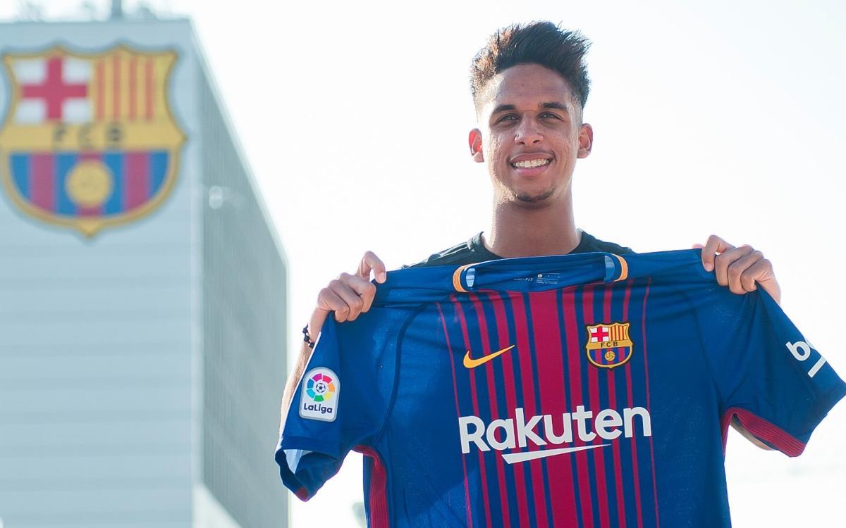 Vitinho joins Barça B