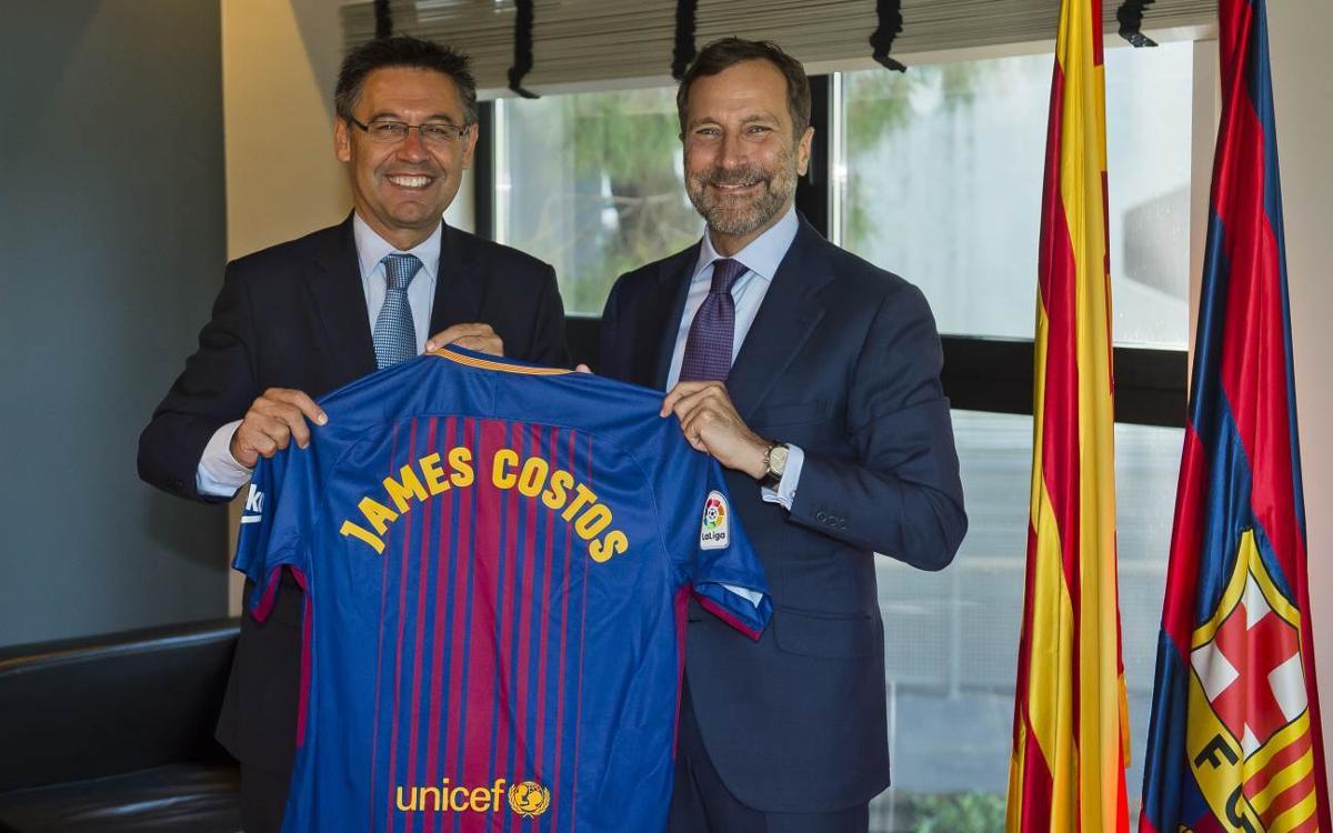 James Costos, nou assessor estratègic del FC Barcelona a Amèrica