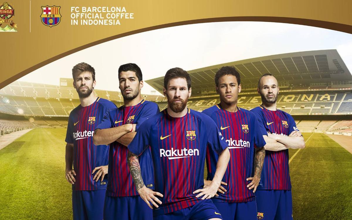 Kopi Singa, new FC Barcelona regional sponsor