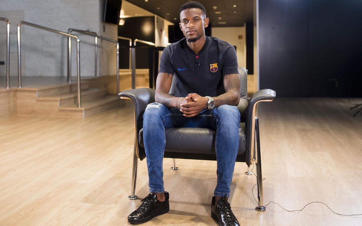 """Nélson Semedo: """"Me fijé en el Barça por Ronaldinho"""""""