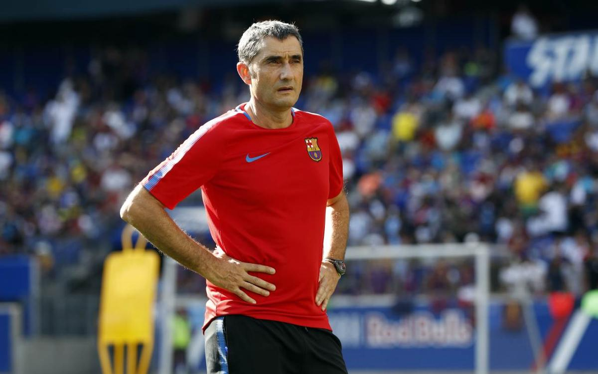 Ernesto Valverde: 'I'm anxious to make my debut'