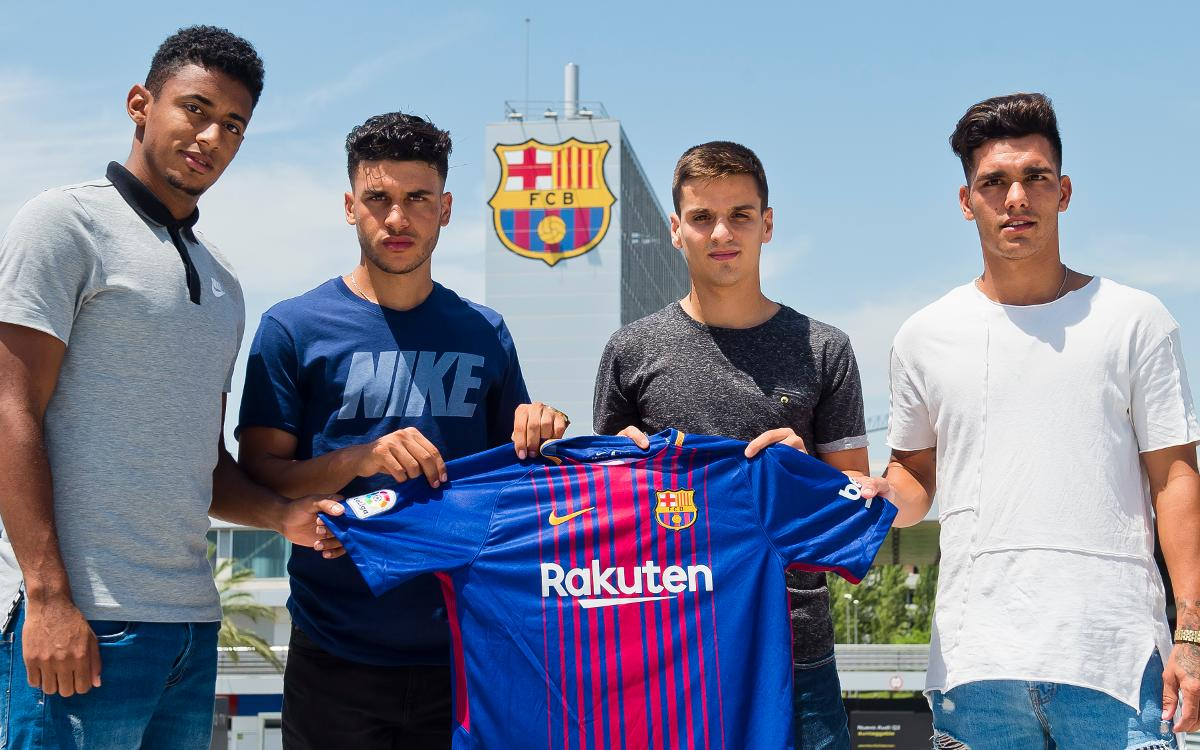 Four new players arrive at Barça B