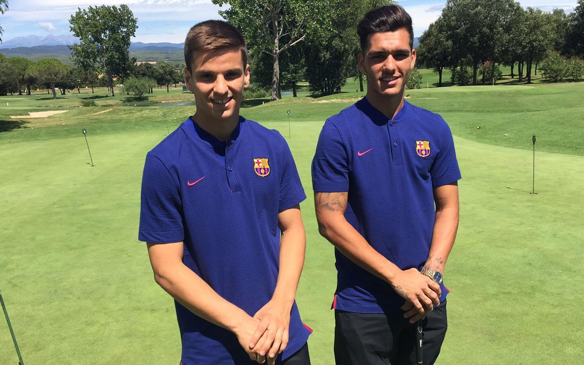 Coneix una mica més dels dos reforços del Barça B: Ruiz de Galarreta i Samu Araujo