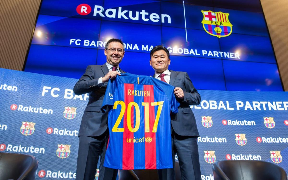 Rakuten presentation: Japan events