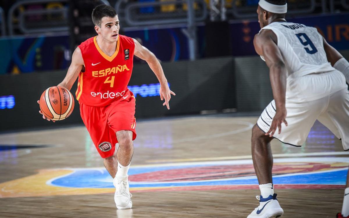 Esteban, Figueras i Font, quarts al Mundial Sub-19