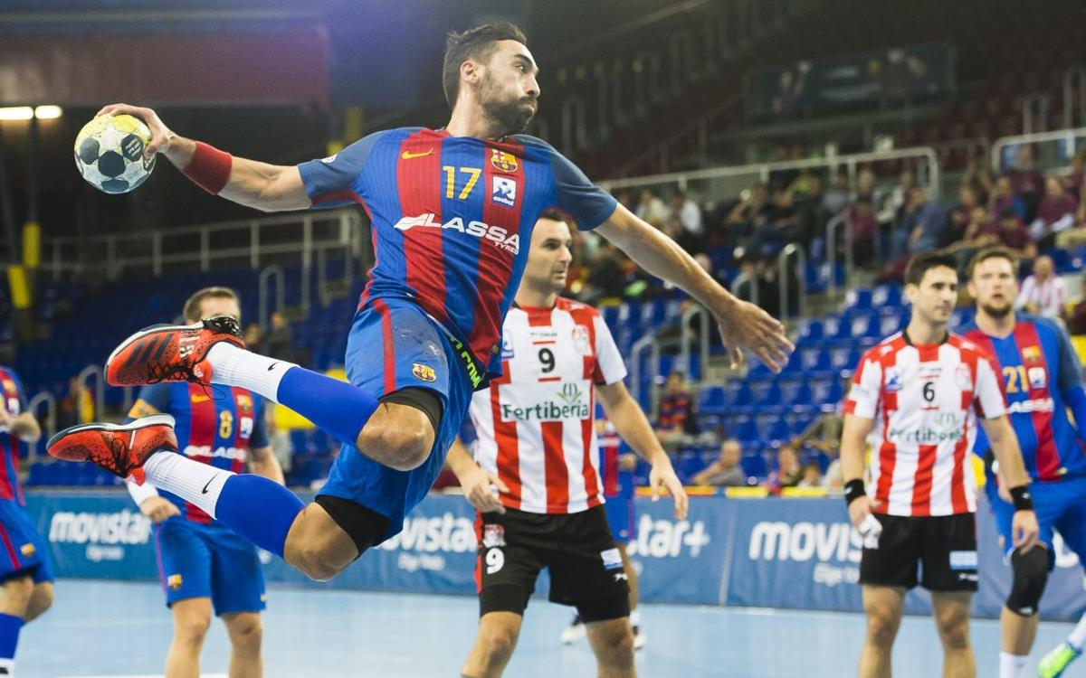 FC Barcelona Lassa v Fertiberia Port Sagunt: Placid win to stay unbeaten (34-25)