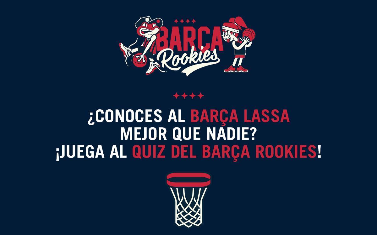Participa en el Quiz Barça Rookies, el nuevo concurso de este verano