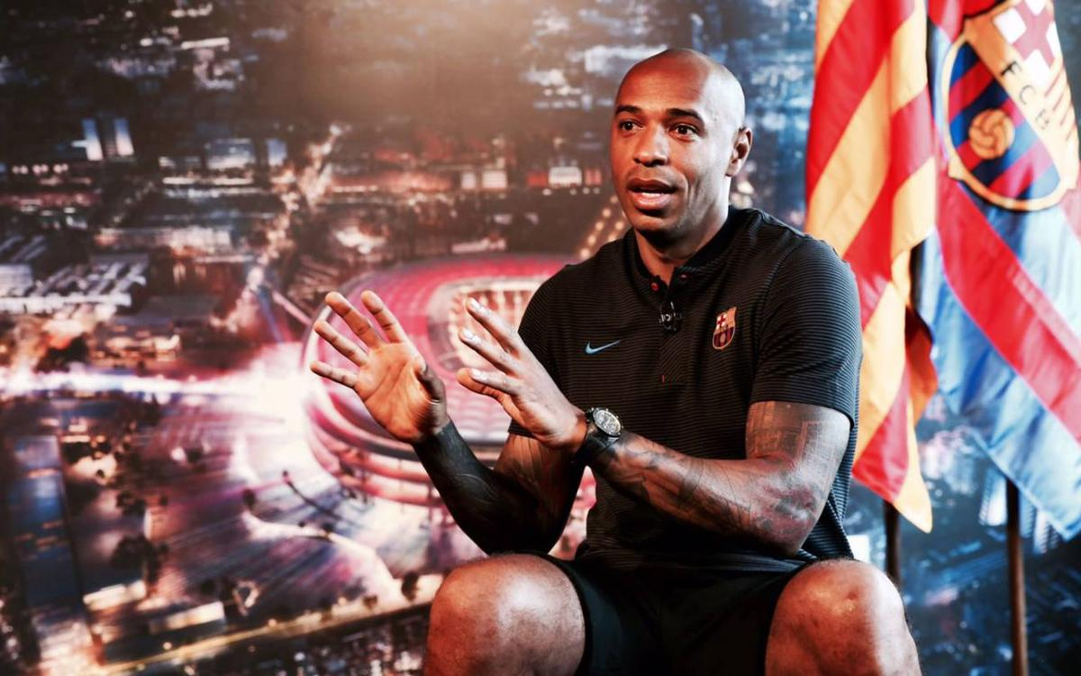 Thierry Henry: When I talk about Barça, I talk about La Masia