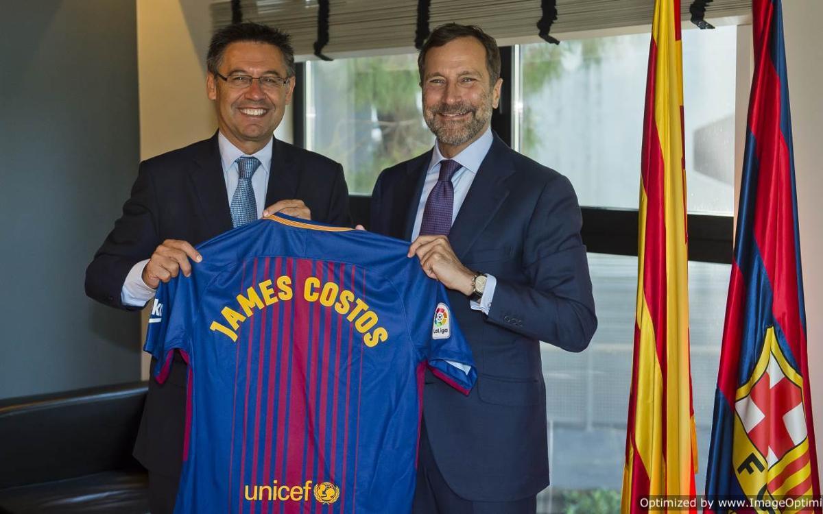 James Costos, FC Barcelona's new strategic advisor in America