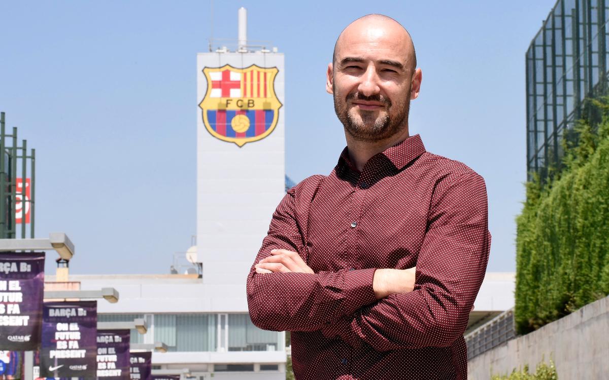 Fran Sánchez, nuevo entrenador del Barça Femenino