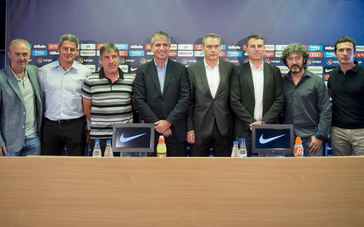 Josep Segura presents new football management model at FC Barcelona