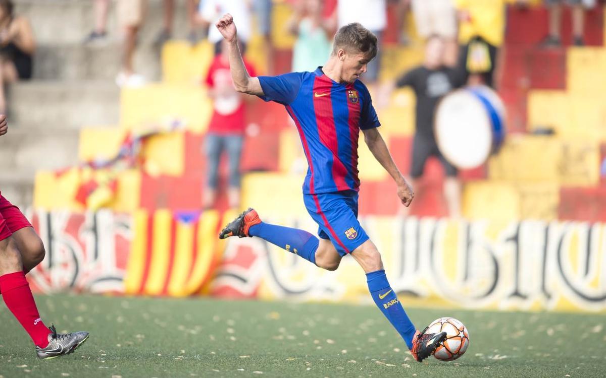 Santboià - Barça B, en la Copa Catalunya