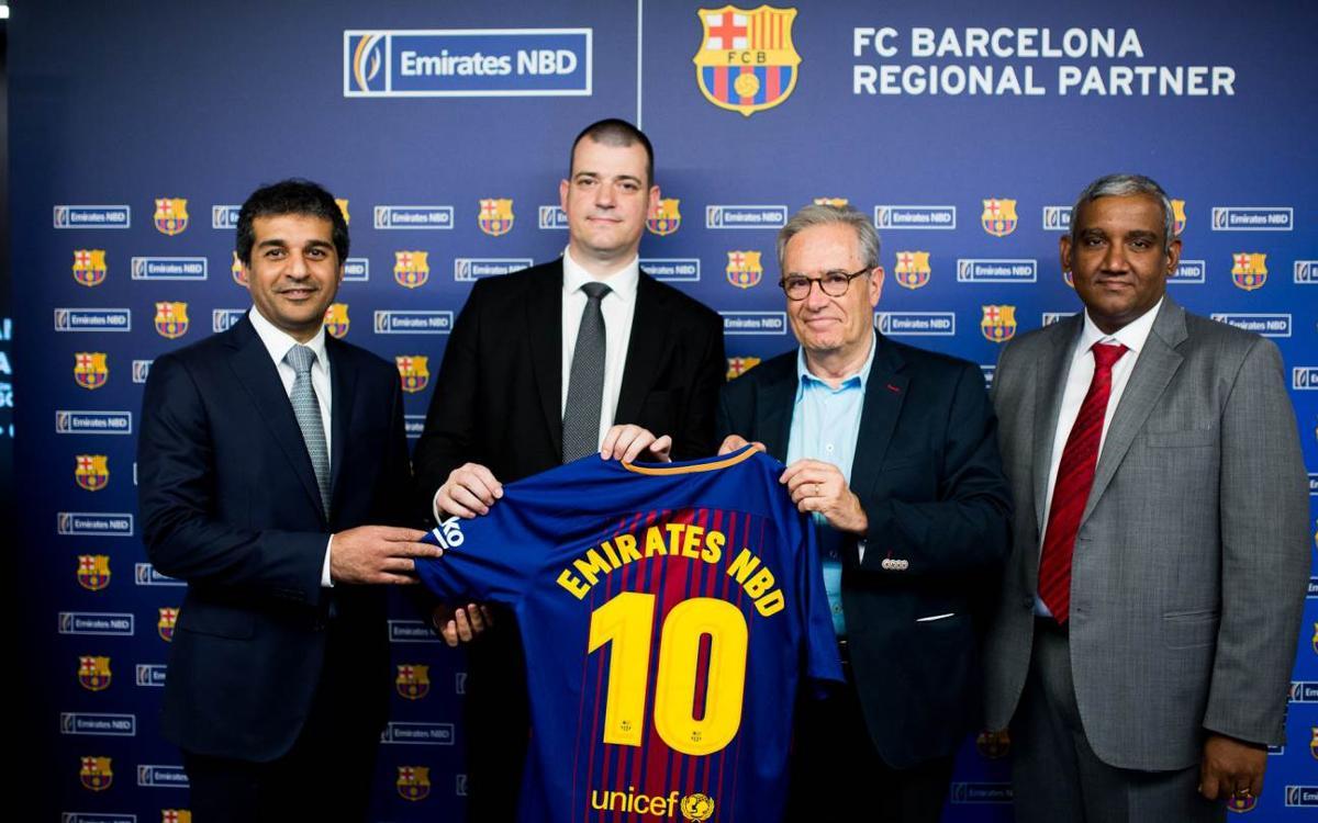 Emirates NBD Egypt, nou patrocinador regional del FC Barcelona