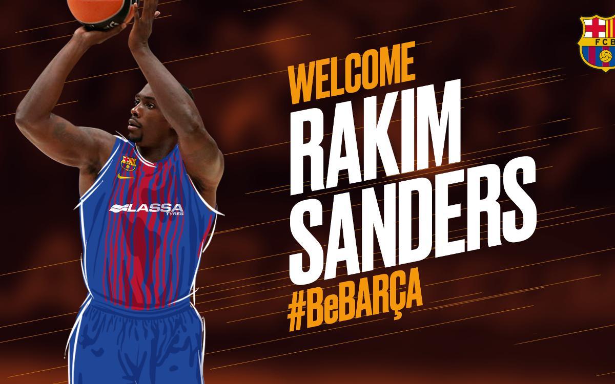 Rakim Sanders, un tot terreny per al Barça Lassa