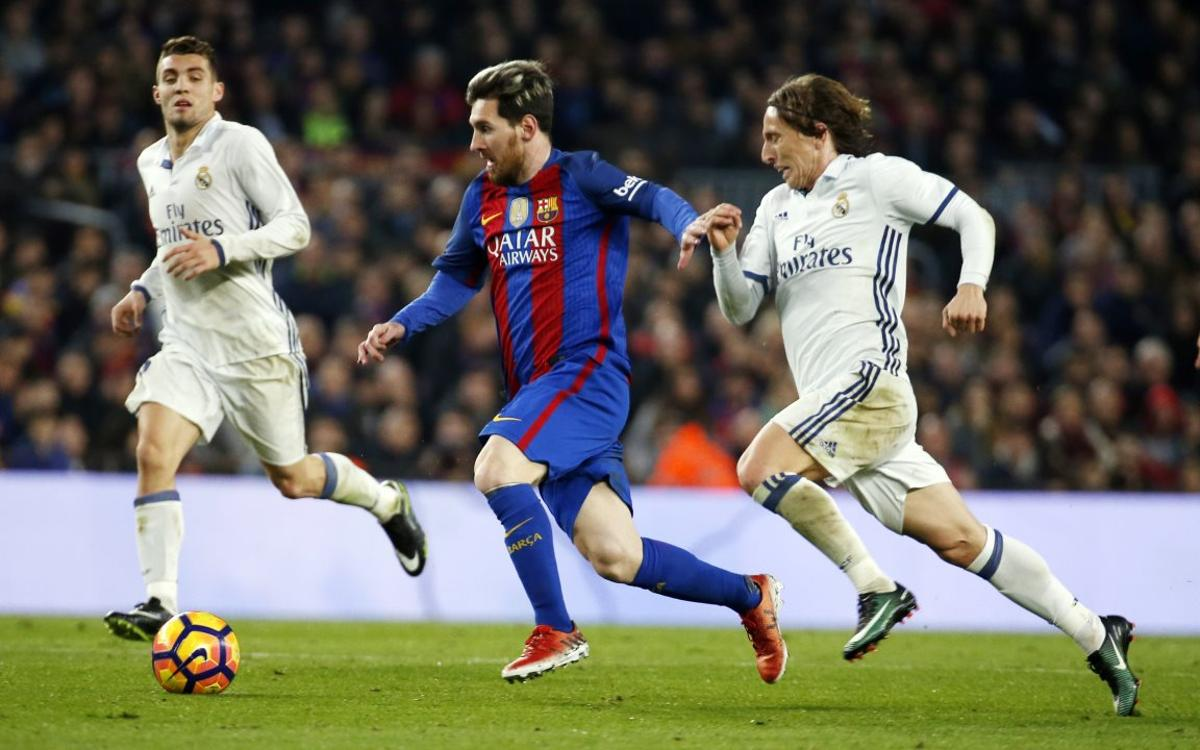 El Clásico dates for the 2017/18 season