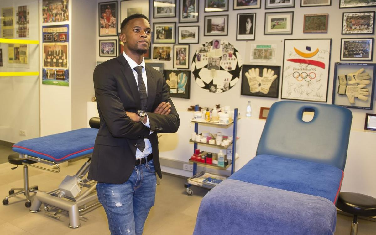 What you didn't see at Nélson Semedo's presentation