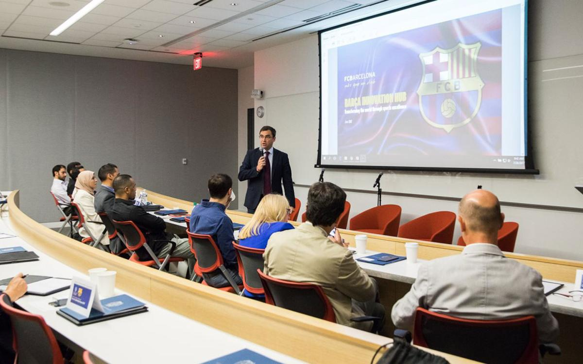 Barça Innovation Hub organise a summit on sports leadership at Georgetown University