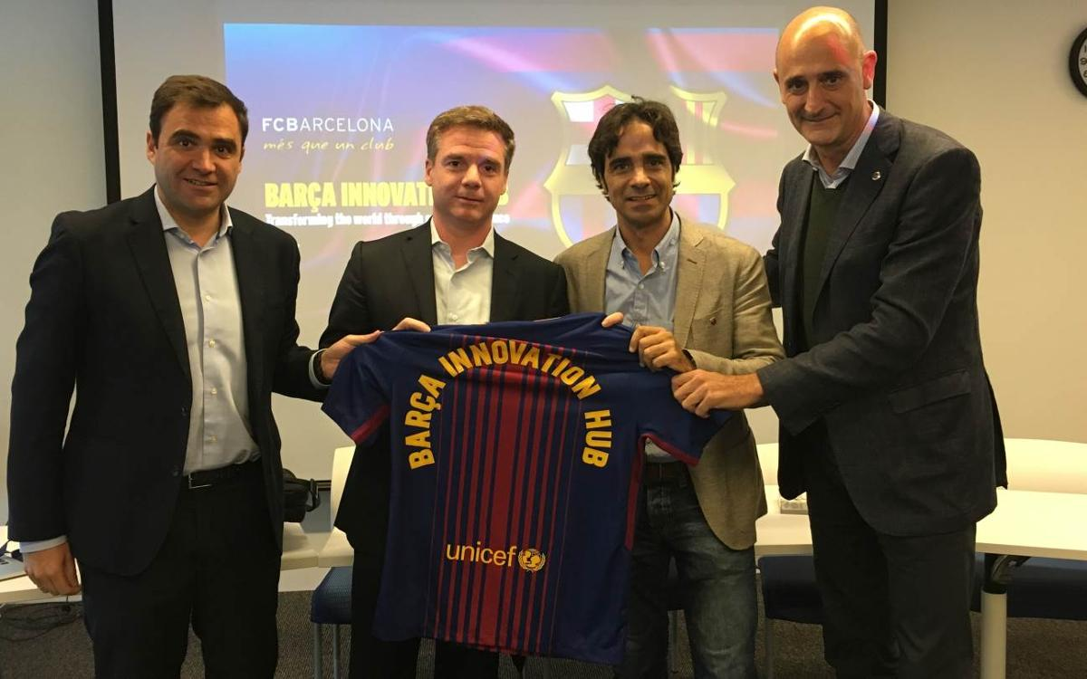 Barça Innovation Hub and MIT hold joint conference in Boston