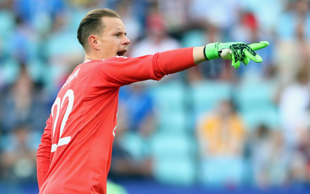 Ter Stegen, Confederations Cup champion and MVP in the final