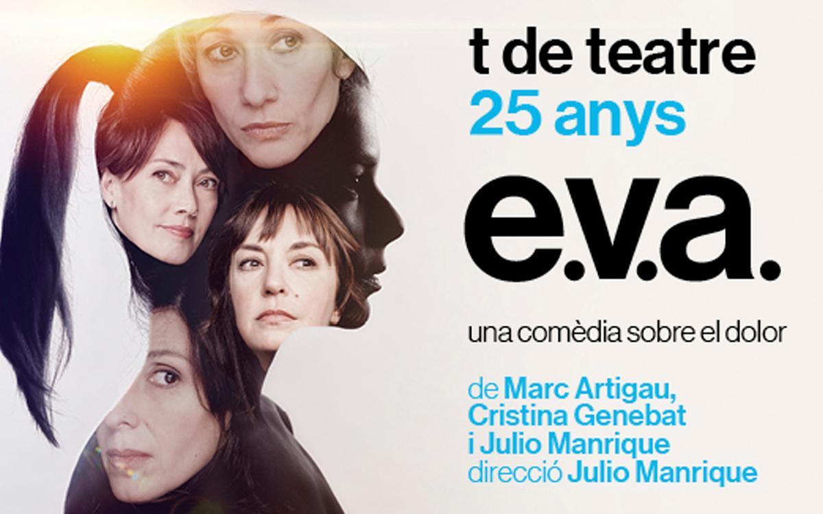 'E.V.A.' al Teatre Romea amb descompte per als socis