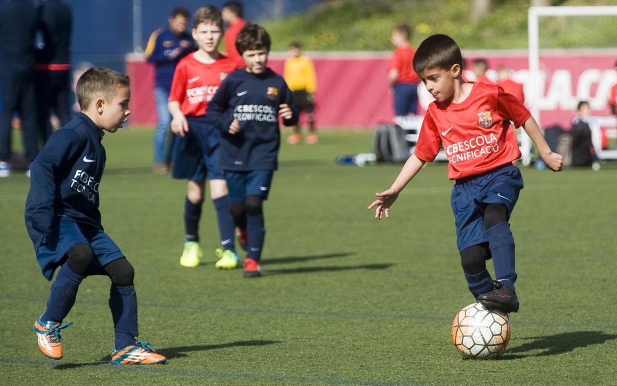 La FCBEscola Perfeccionament Catalunya arranca la temporada con cinco centros