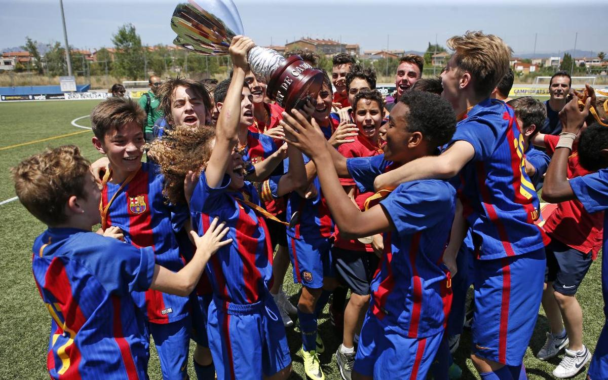 Top five La Masia goals from the weekend gone by