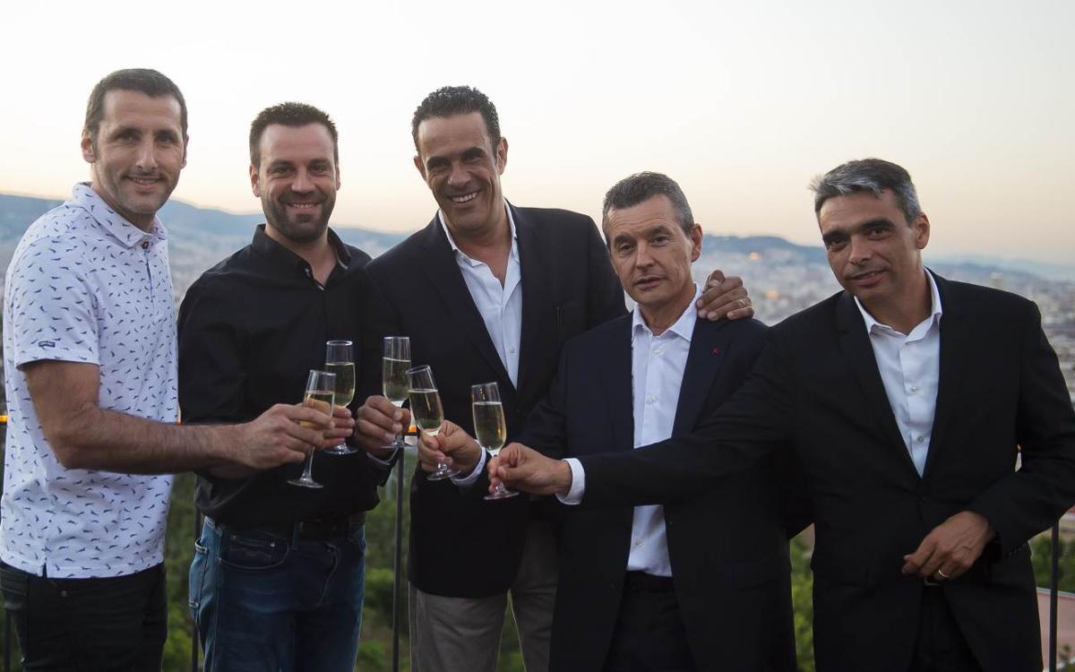 El Barça Lassa celebra el final de la temporada amb un sopar