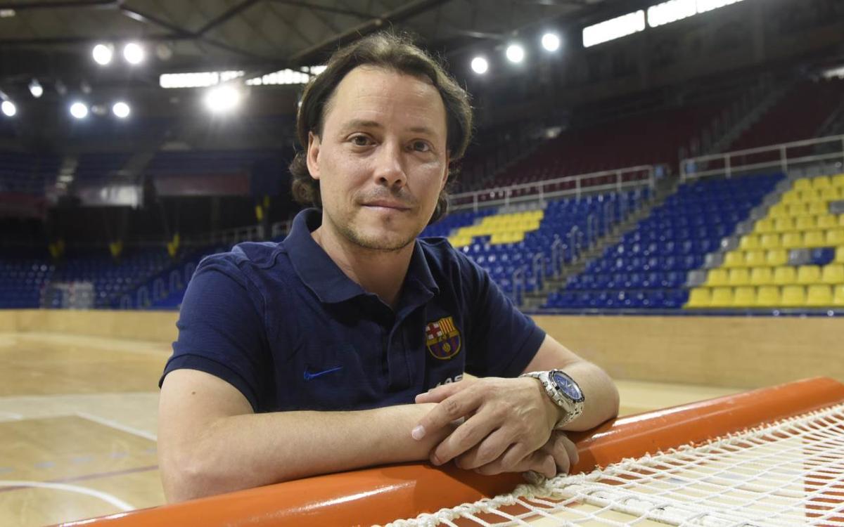 Keko Iglesias és el nou secretari tècnic de l'hoquei patins formatiu del FC Barcelona Lassa
