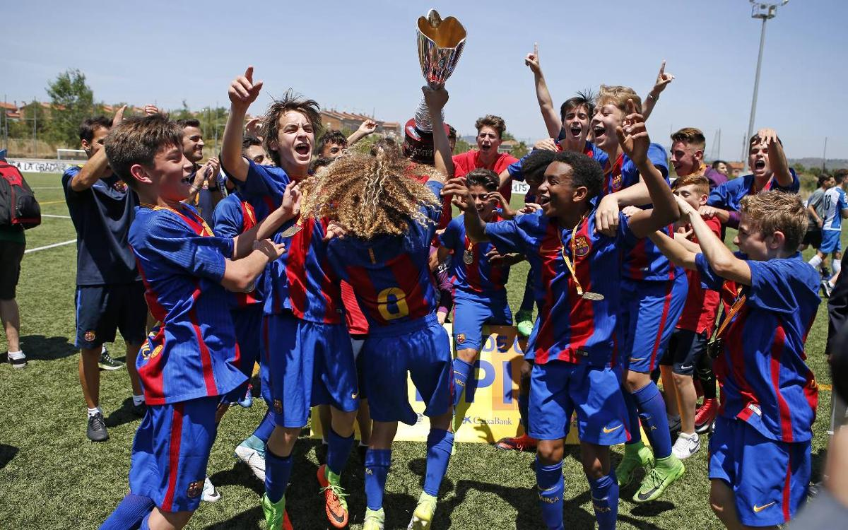 U14A team crowned champions of Catalonia