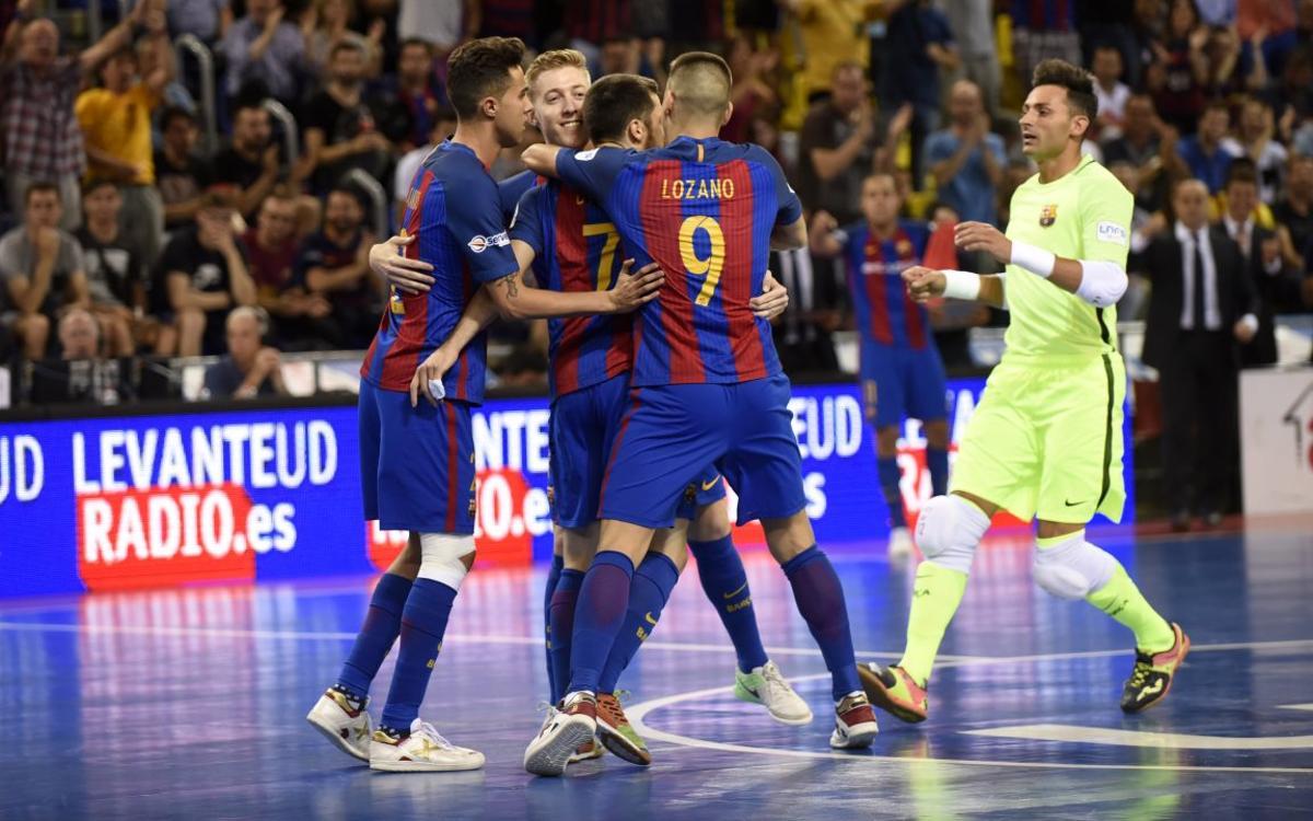 Barça Lassa v ElPozo Múrcia: Fantastic victory forces the decider (5-1)