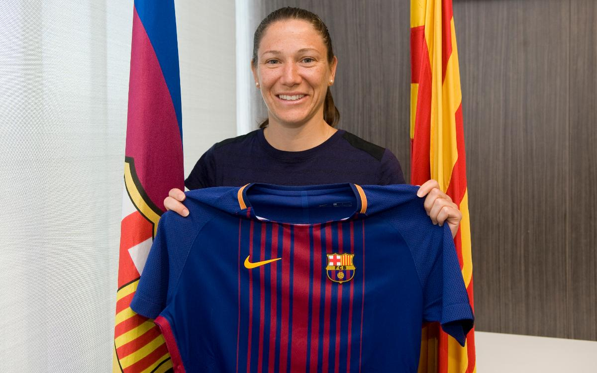 Élise Bussaglia is the Barça Women's team's first signing for 2017/18